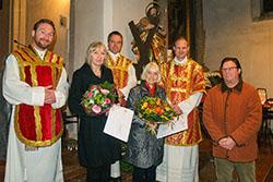 Orgelpfeifer Trostberg Caritas 2015 Ehrungen Teaser