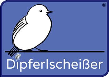 Dipferl Logo Kommentar Dipferlscheißer