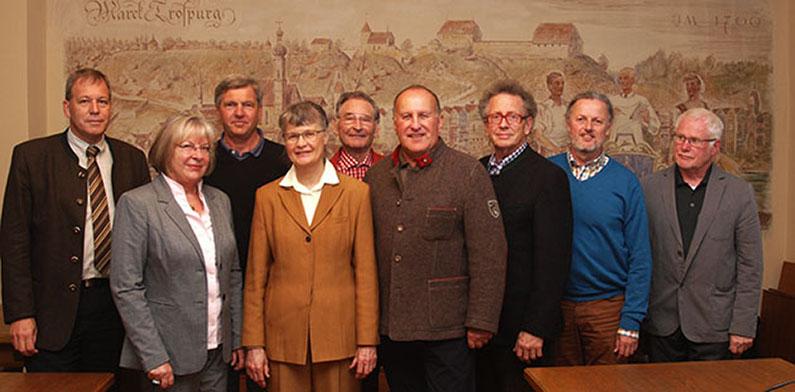 Die Mitglieder des alten Seniorenbeirats wurden verabschiedet.