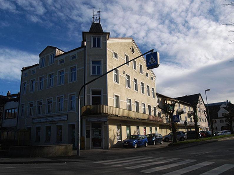 Der ehemalige Wiener Hof.