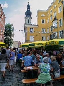Prgelpfeifer Trostberg Altstadtfest 3