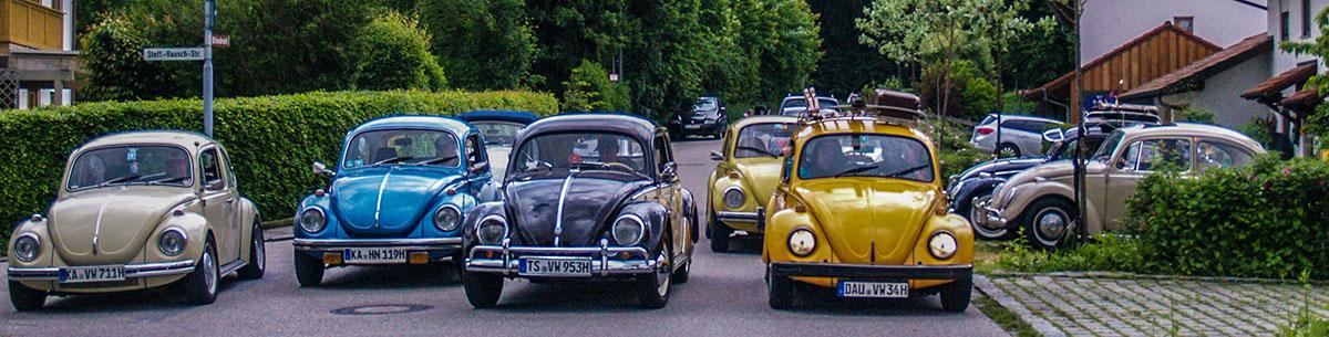 Käferparade in Trostberg