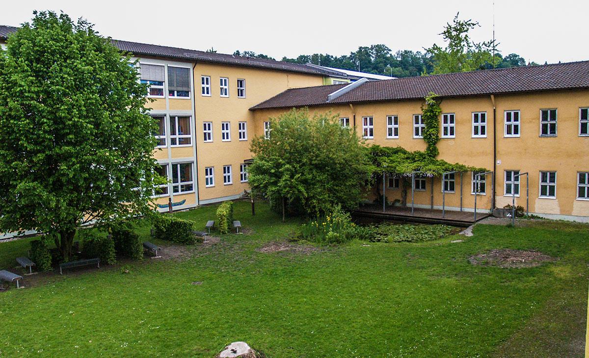 Hier soll die Mensa der Heinrich-Braun-Mittelschule entstehen.