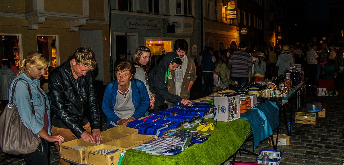 Trostberger Nachtflohmarkt