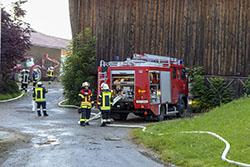 Orgelpfeifer Trostberg 2016 Feuerwehr Übung Teaser