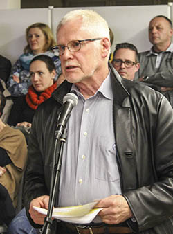 Altbürgermeister Walther Heinze. Foto: fam