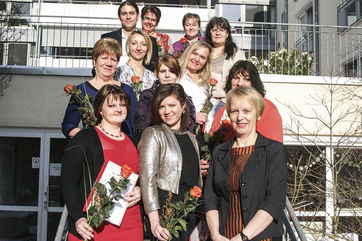 Fortbildung zu Fachkräften für gerontopsychiatrische Pflege erfolgreich abgeschlossen