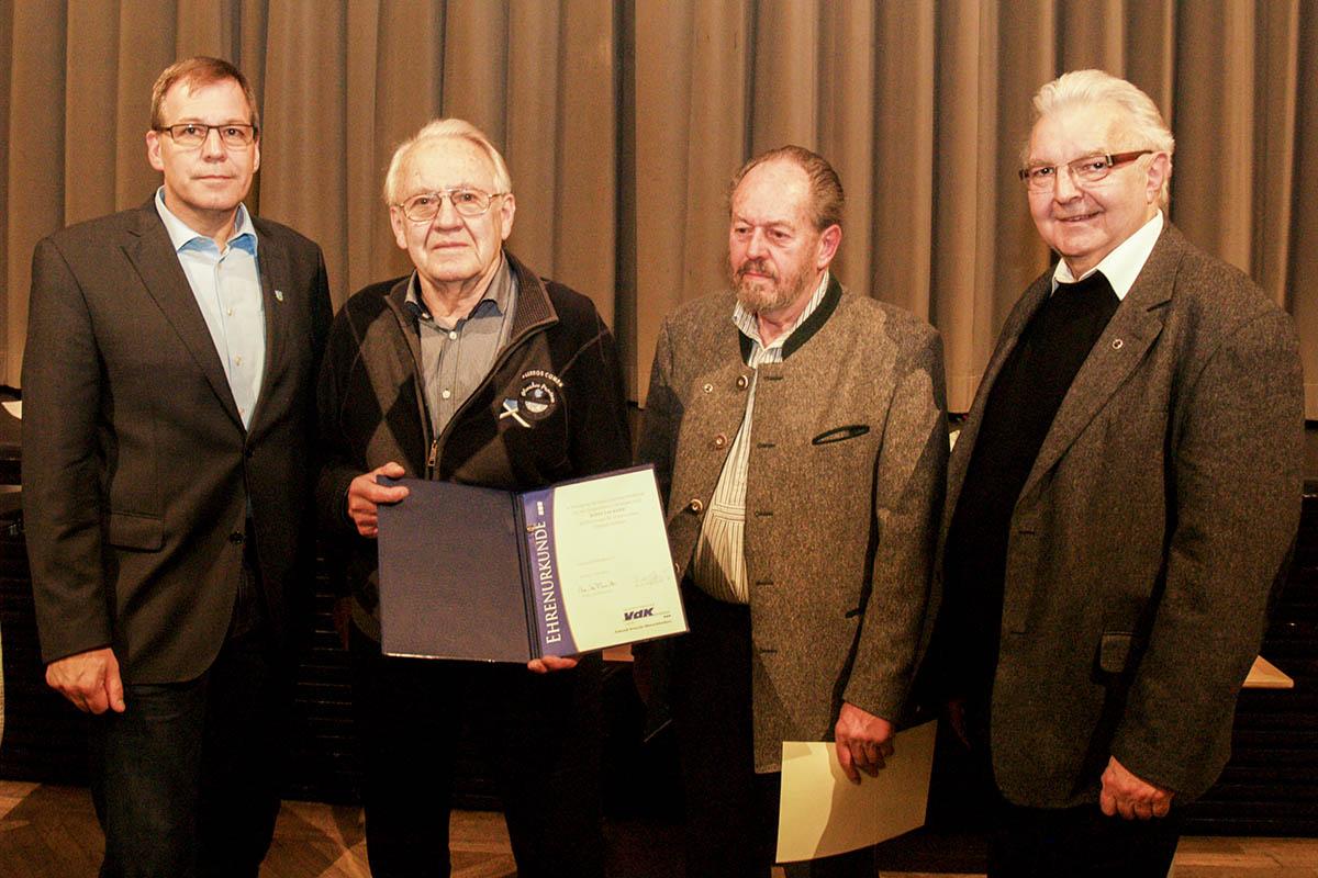 Josef Lackner engagiert sich seit 20 Jahren in der VdK-Vorstandschaft.