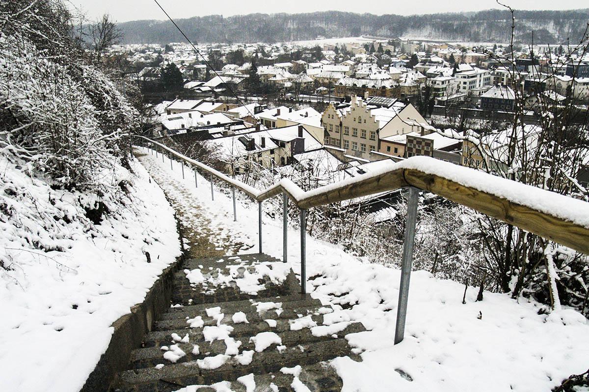 Die Schlossbergwege wurden saniert.