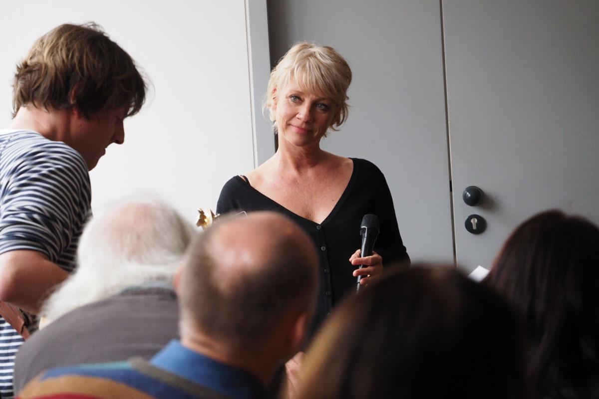Anna Leman bei der Sonntagsmatinée im Stadtkino.