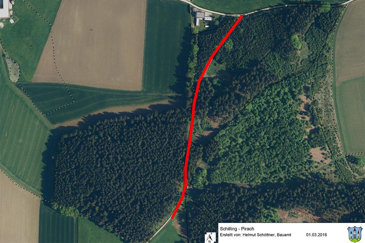 Straßensanierung zwischen Schilling und Pirach beschlossen
