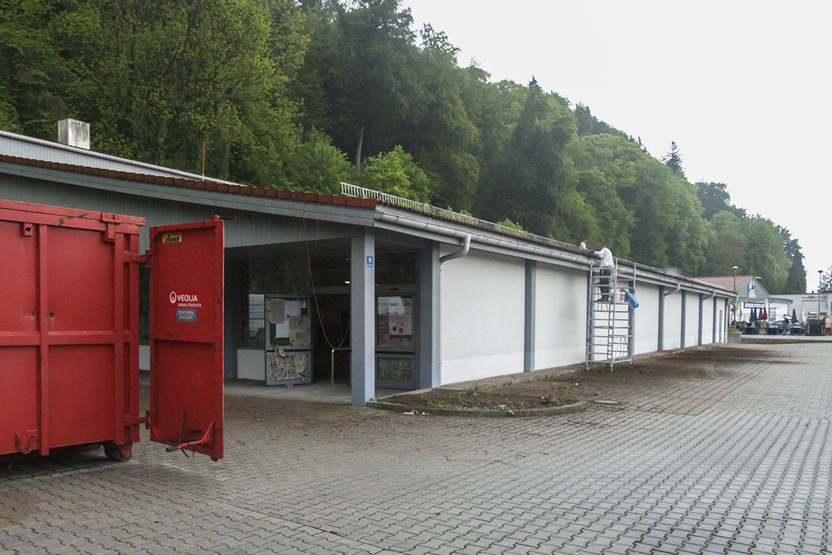 Rossmann zieht ins ehemalige Aldi-Gebäude.