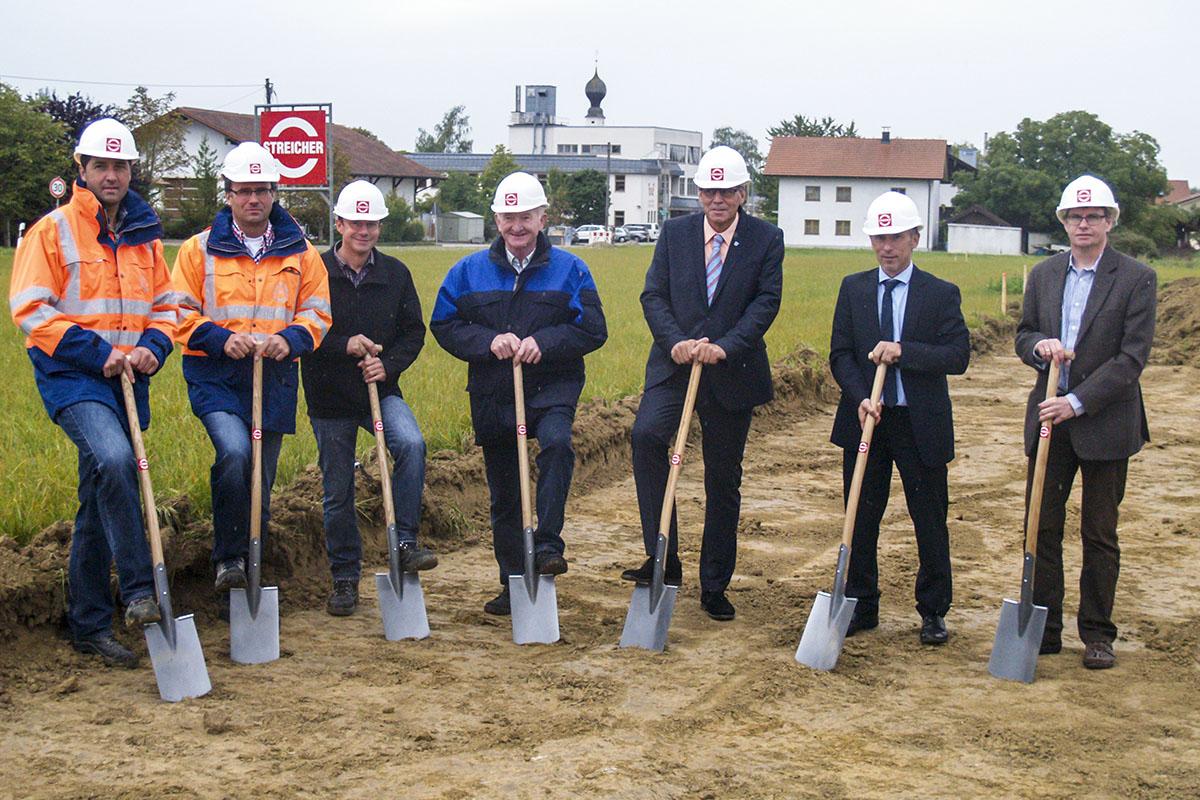 Startschuss fürs Baugebiet in Oberfeldkirchen