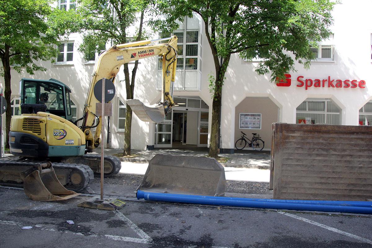 Stadtwerke-Investition: Umbau Gabelsbergerstraße