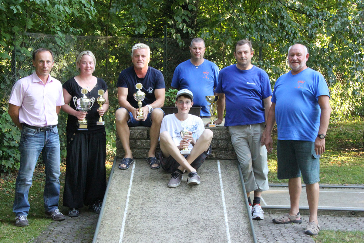 Minigolf-Stadtmeisterschaft 2016