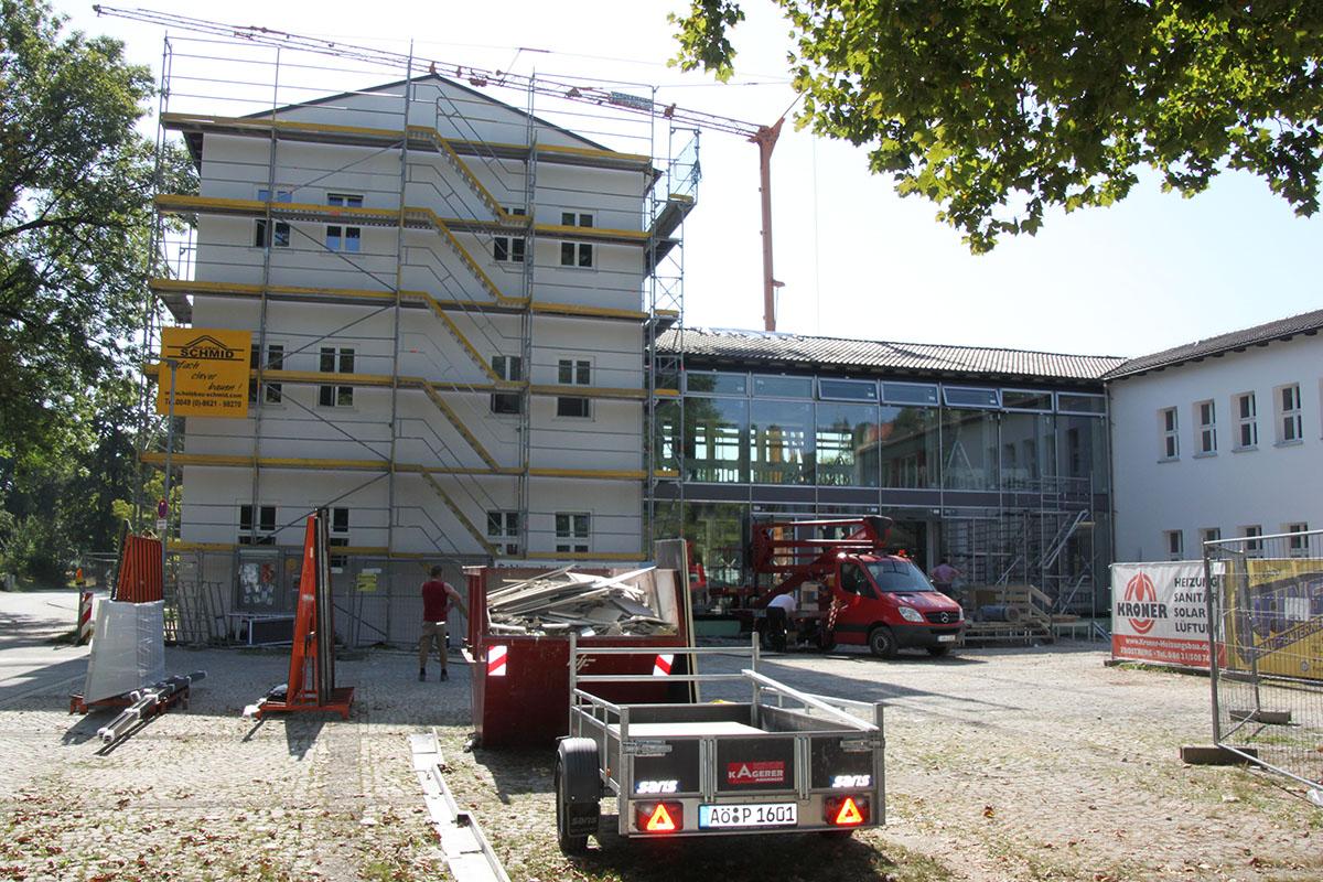 Sanierung der Heinrich-Braun-Grundschule Trostberg