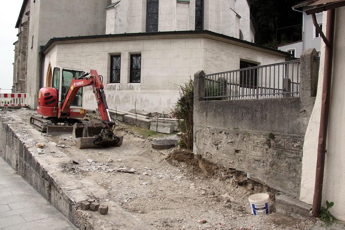 Barrierefrei zur Stadtpfarrkirche St. Andreas