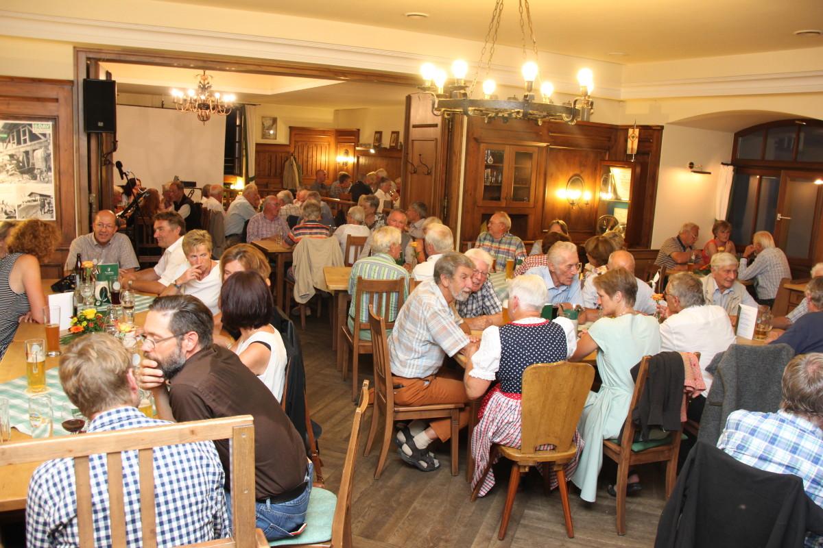 Festabend zum Jubiläum 50 Jahre Trostberger Hütte