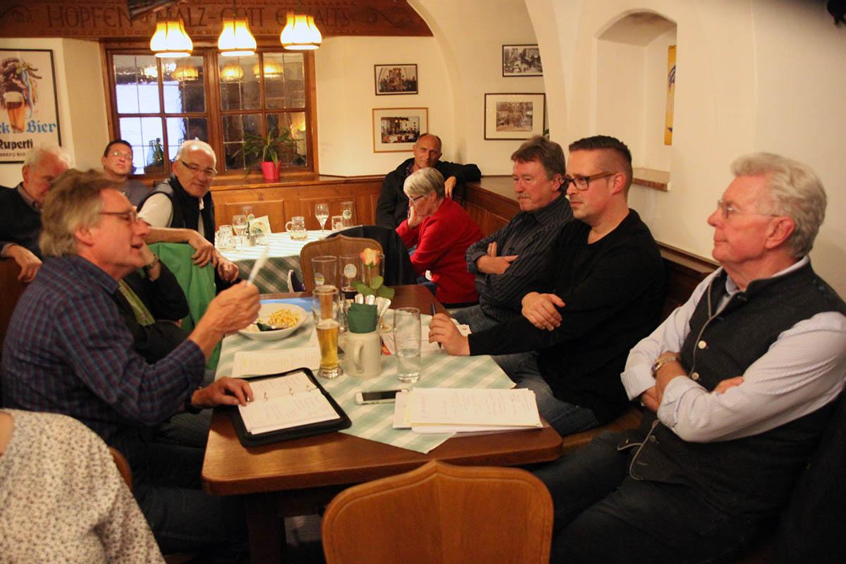 MdL Knoblauch bei SPD-Mitgliederversammlung