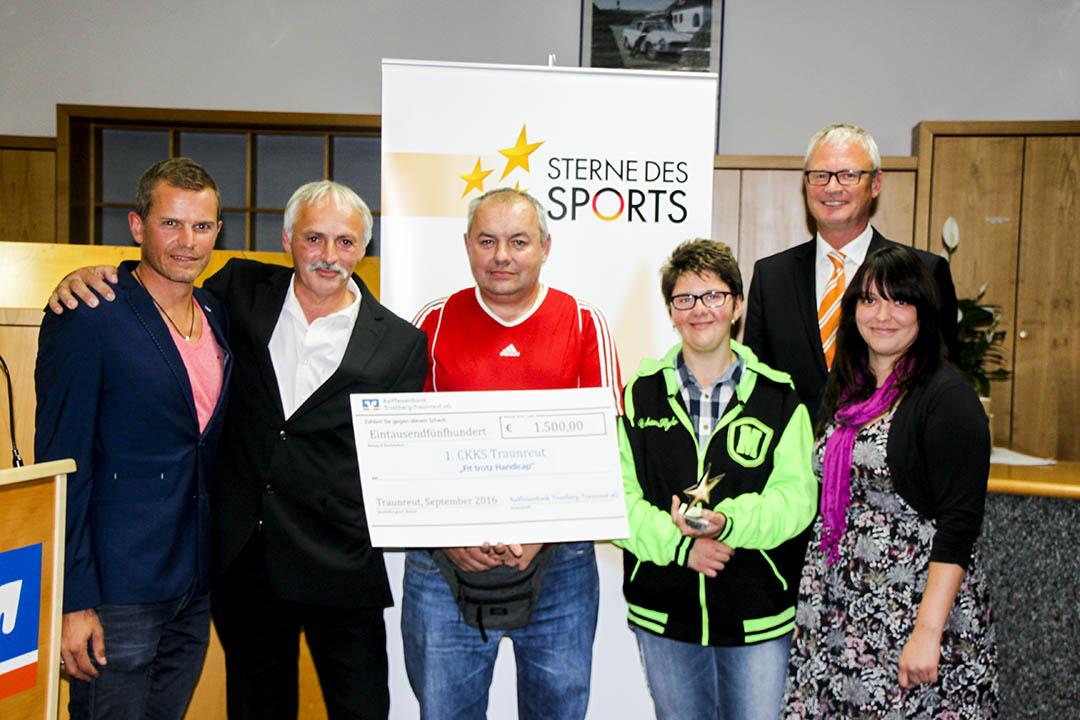 Sterne des Sports 2016 in Bronze: Platz 1 für CKKS Traunreut