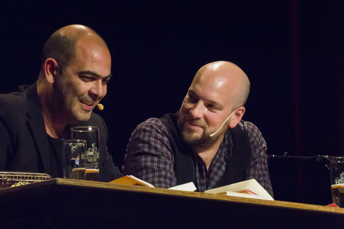 Hannes Ringlstetter und Stephan Zinner