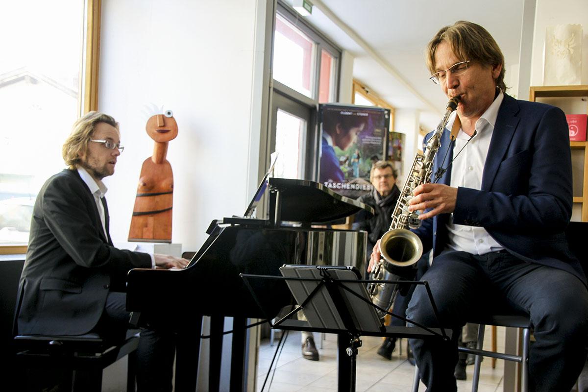 Matthias Bublath (links) und Michael Hornstein